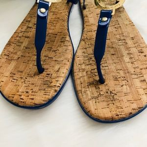 ca8aaab8a0d7 MICHAEL Michael Kors Shoes - MK Charm Jelly Flip Flop with Cork Bottom
